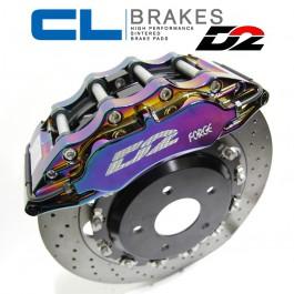 Plaquettes CL Brakes (Carbone Lorraine) pour Kits Gros Freins D2 Racing